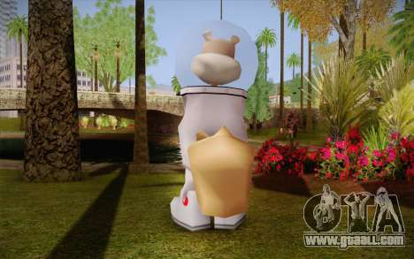 Sandy Cheeks for GTA San Andreas second screenshot