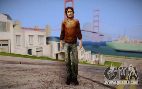 Luke из The Walking Dead for GTA San Andreas