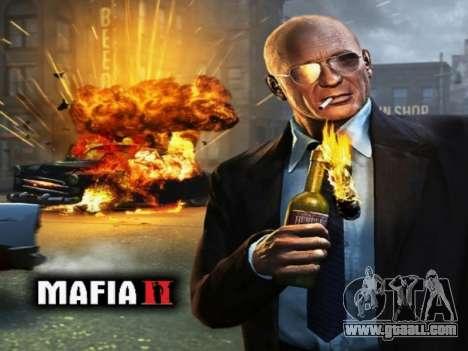Boot screen Mafia II for GTA San Andreas second screenshot