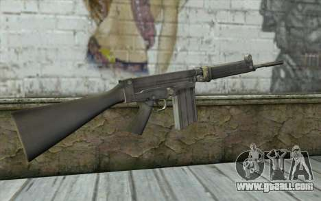 Fuzil FAL for GTA San Andreas second screenshot