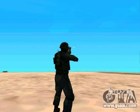 Jackhammer из Max Payne for GTA San Andreas sixth screenshot