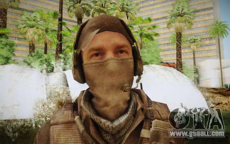 Mercenary in the armor (COD MW3) for GTA San Andreas