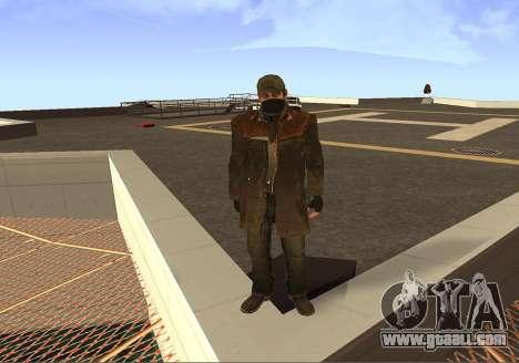 Aiden Pearce for GTA San Andreas forth screenshot