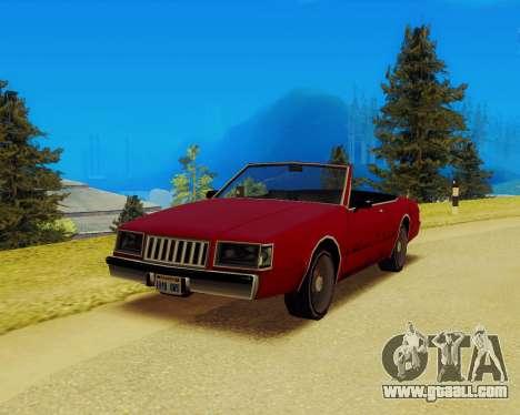 Majestic Convertible for GTA San Andreas