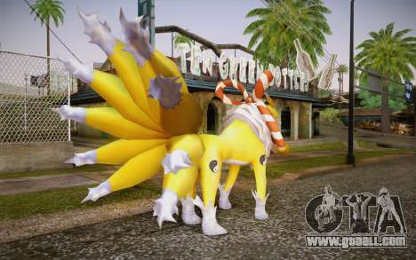 Kyubimon for GTA San Andreas second screenshot