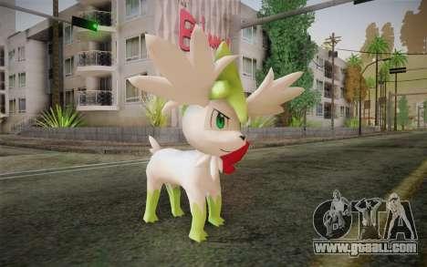 Shaymin Sky from Pokemon for GTA San Andreas