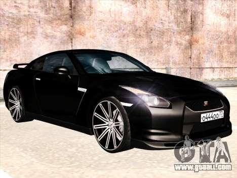 Nissan GTR-R35 Spec-V for GTA San Andreas
