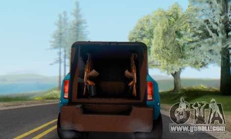 Dodge Ram 3500 Super Reforzada for GTA San Andreas back left view