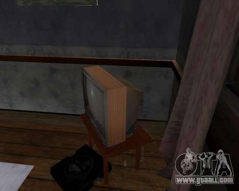 Colour television alpha TC-DU for GTA San Andreas second screenshot
