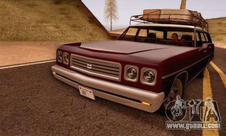 Dundreary Regina V1.0 for GTA San Andreas