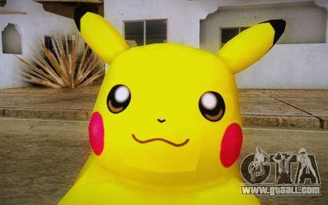 Pikachu for GTA San Andreas third screenshot