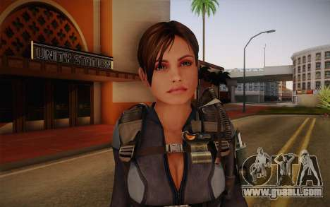 Jill Valentine from Resident Evil: Revelations for GTA San Andreas third screenshot