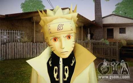 Naruto Kurama for GTA San Andreas third screenshot