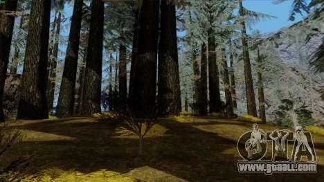 The dense forest v2 for GTA San Andreas sixth screenshot