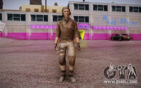 Mercenary without armor (COD MW3) for GTA San Andreas