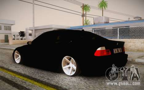 BMW 318 Ci 34 UNL 58 for GTA San Andreas left view