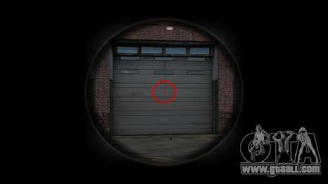 Machine Steyr AUG-A3 Optic Dots for GTA 4 third screenshot