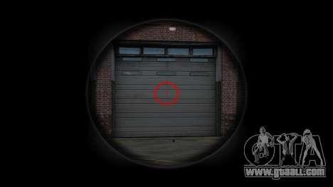 Автомат Steyr AUG-A3 Optic Red urban for GTA 4 third screenshot