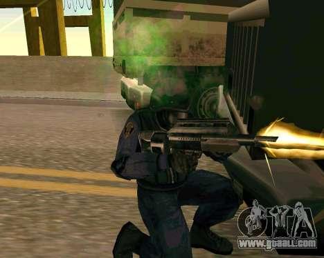 Jackhammer из Max Payne for GTA San Andreas seventh screenshot