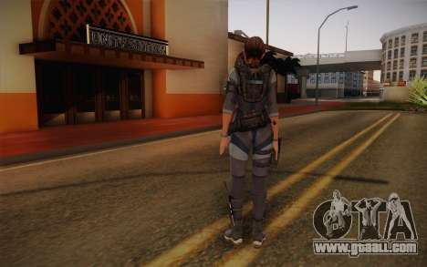 Jill Valentine from Resident Evil: Revelations for GTA San Andreas second screenshot