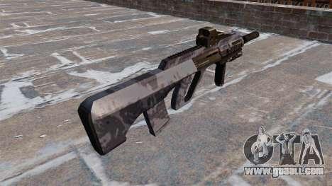 Machine Steyr AUG-A3 Blue Camo for GTA 4 second screenshot