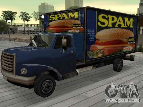 New advertising on cars for GTA San Andreas