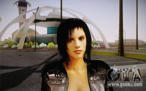Jill Biker for GTA San Andreas third screenshot