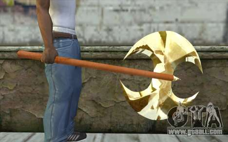 Golden axe for GTA San Andreas third screenshot