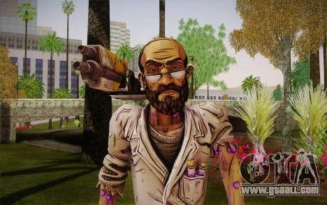 Professor Nakayama из 2 Borderlands for GTA San Andreas third screenshot