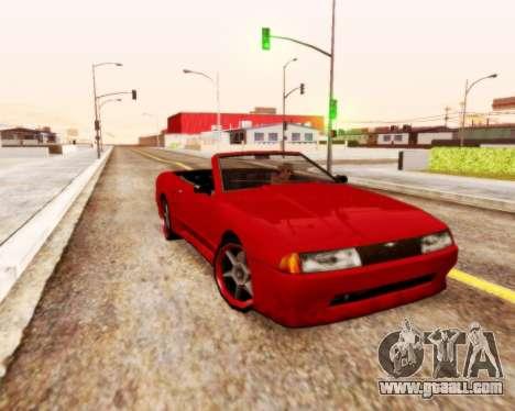Elegy Convertible v1.1 for GTA San Andreas