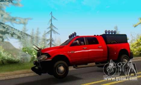 Dodge Ram 3500 Super Reforzada for GTA San Andreas left view