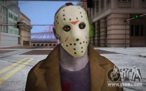 Jason Voorhees for GTA San Andreas third screenshot