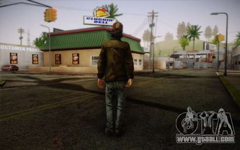 Kenny из The Walking Dead for GTA San Andreas second screenshot