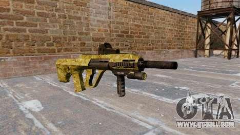 Machine Steyr AUG-A3 Gold for GTA 4