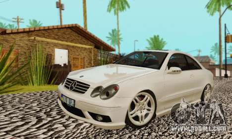 Mercedes-Benz CLK55 AMG 2003 for GTA San Andreas interior