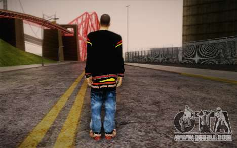 Sami Woles Skin for GTA San Andreas second screenshot