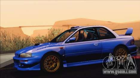 Subaru Impreza 22B STi 1998 for GTA San Andreas side view