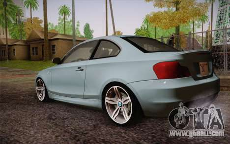 BMW 135i Limited Edition for GTA San Andreas left view