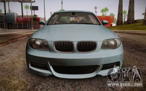 BMW 135i Limited Edition for GTA San Andreas right view