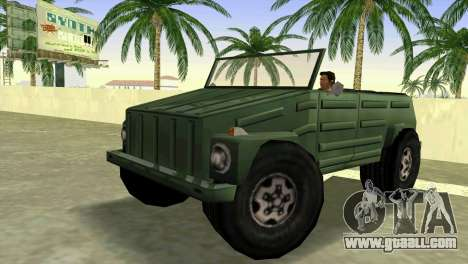 Volkswagen Kuebelwagen for GTA Vice City