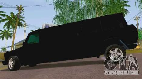 Mercedes-Benz G500 Limousine for GTA San Andreas left view