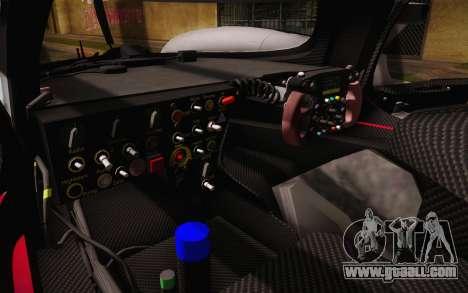 Audi R18 E-tron Quattro 2014 for GTA San Andreas bottom view
