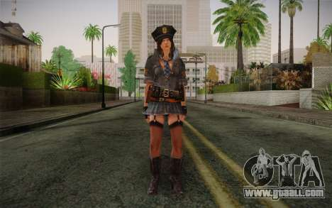 Helena Harper Police Version for GTA San Andreas