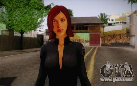 Scarlet Johansson из Avengers for GTA San Andreas third screenshot