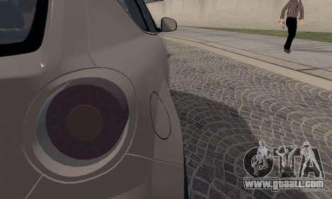 Afla Romeo Mito Quadrifoglio Verde for GTA San Andreas side view