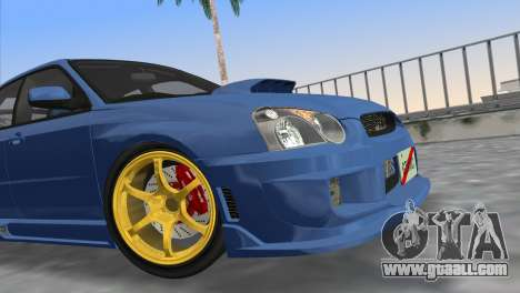Subaru Impreza WRX STI 2005 for GTA Vice City right view