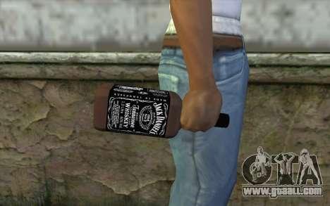 Jack Daniels Whiskey for GTA San Andreas third screenshot