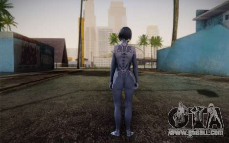 Cortana from Halo 4 for GTA San Andreas second screenshot