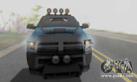 Dodge Ram 3500 Super Reforzada for GTA San Andreas side view