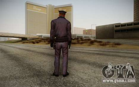 Policeman from Alone in the Dark 5 for GTA San Andreas second screenshot